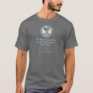 T-shirt Citation d'Ayn Rand (totalitarisme)