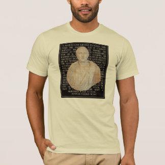 T-shirt Citation de Cicero sur des traîtres :  Ennemi dans