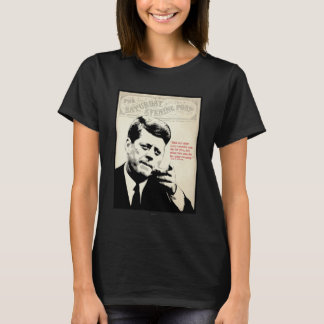T-shirt Citation de John F. Kennedy