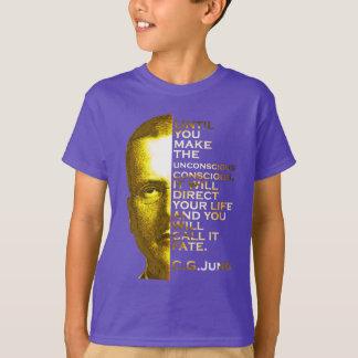 T-shirt Citation de Jung - faites le conscient inconscient