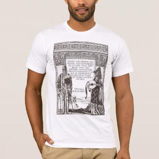 T-shirt Citation de Machiavel sur le contrôle des armes
