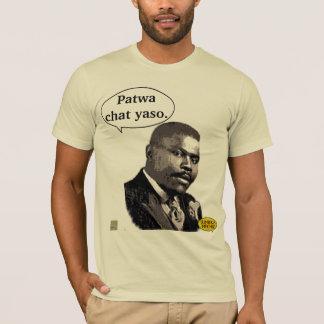 T-shirt Citation de patwa de personnalité