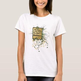 T-shirt Citation de religion de Dalai Lama