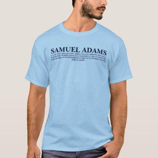 T-SHIRT CITATION DE SAMUEL ADAMS - CHEMISE