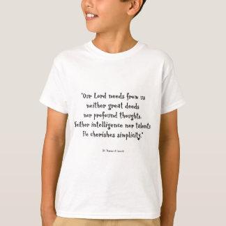 T-shirt Citation de Therese de saint