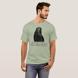 T-shirt Citation de Voltaire : La religion a dominé trop