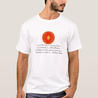 T-shirt Citation de William Blake