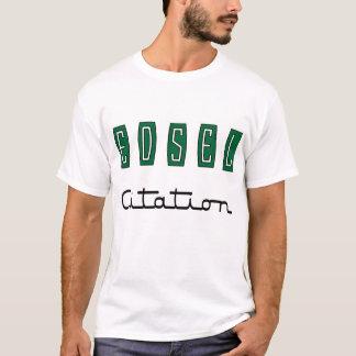 T-shirt Citation d'Edsel
