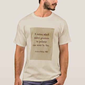 T-shirt Citation d'évêque d'Abraham
