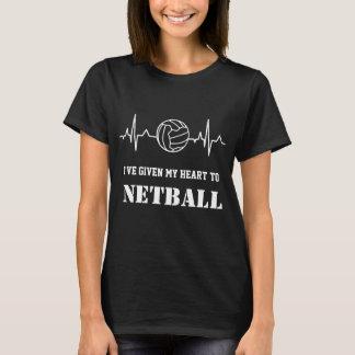 T-shirt Citation faite sur commande de net-ball