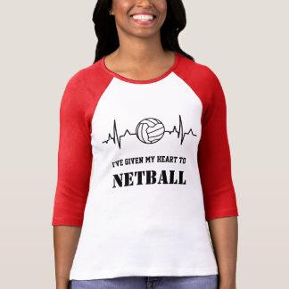 T-shirt Citation faite sur commande de net-ball de