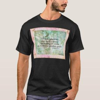 T-shirt Citation inspirée de nature par Emily Bronte