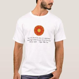 T-shirt Citation inspirée d'Edgar Allan Poe au sujet des