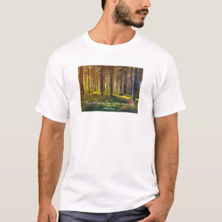 T-shirt Citation poignante de Betrand Russell