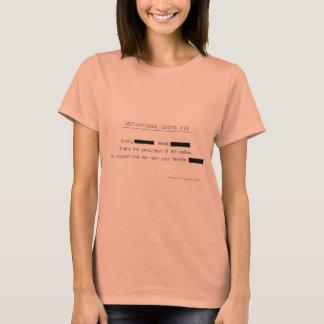 T-shirt Citations de motivation éditées # habillement de