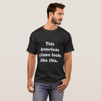 T-shirt Citoyen américain