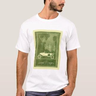 T-shirt Citroen vintage circule en voiture l'annonce -