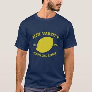 T-shirt Citron de déplacement de Fac de MJN (Crieff)