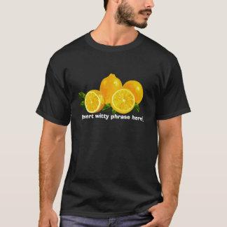 T-shirt Citrons de la vie