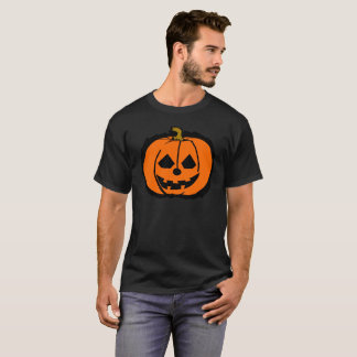 T-shirt citrouille de Halloween