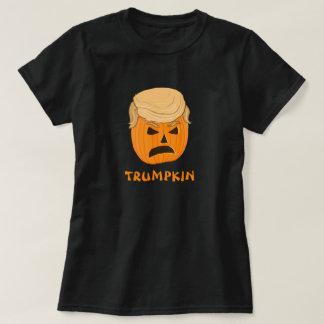 T-shirt Citrouille drôle Jack-o'-lantern de Donald