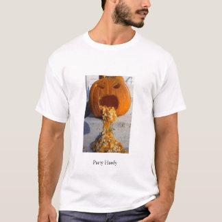 T-shirt Citrouille vomissant