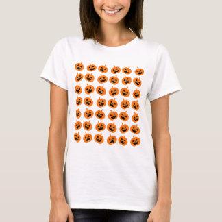 T-shirt Citrouilles de scintillement