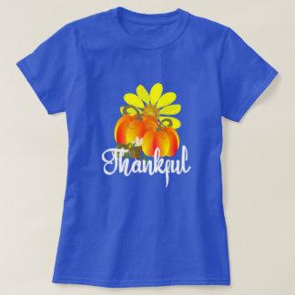 T-shirt Citrouilles reconnaissants d'automne d'automne