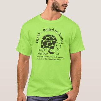 T-shirt CL0172, Tram-Tiré par des tortues
