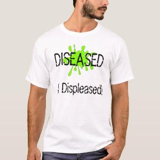 T-shirt Claire est malade et contrariée