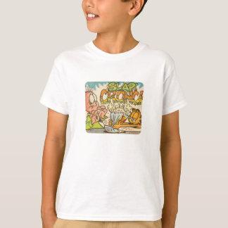 T-shirt Claque de Garfield, la chemise de l'enfant