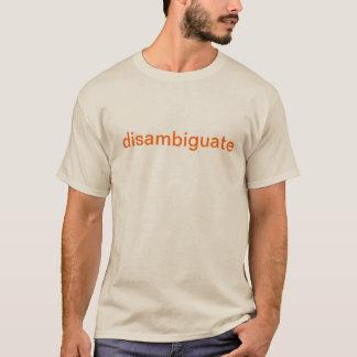 T-shirt Clari-Pièce en t