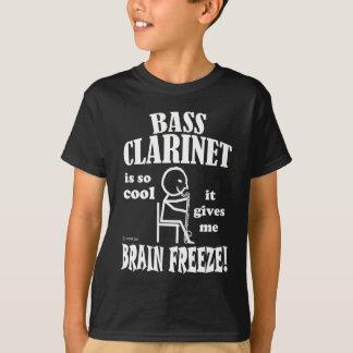 T-shirt Clarinette basse, gel de cerveau