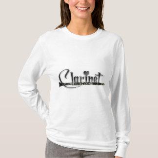 T-shirt Clarinette d'amour de la clarinette I