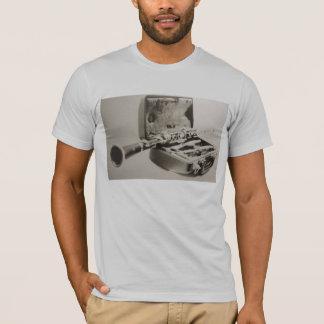 T-shirt Clarinette dans sépia