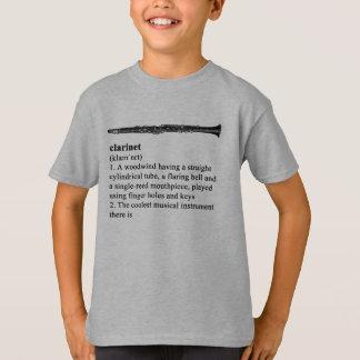 T-shirt Clarinette - l'instrument le plus frais là est