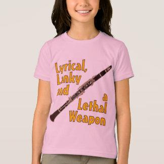 T-shirt Clarinette mortelle