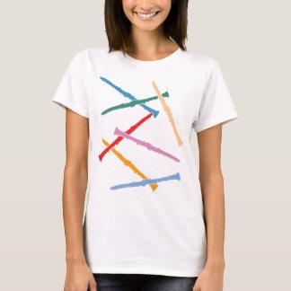 T-shirt Clarinettes colorées