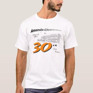 T-shirt Classe d'ACHS de la 30ème réunion 1981