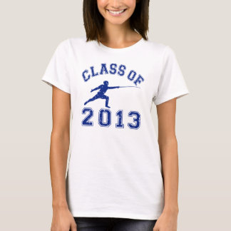 T-shirt Classe de 2013 clôturant
