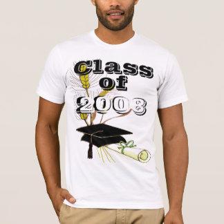 T-shirt Classe de changement d'obtention du diplôme à