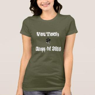 T-shirt Classe de technologie de vétérinaire de 2010