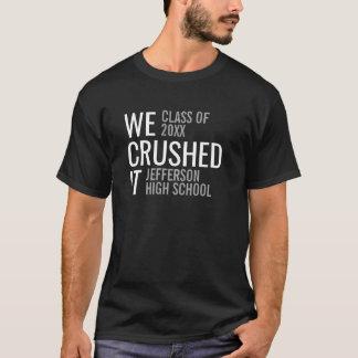 T-shirt Classe d'obtention du diplôme de 2018 à la mode