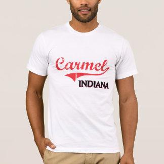 T-shirt Classique de ville de Carmel Indiana