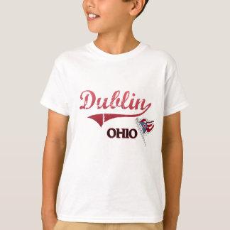 T-shirt Classique de ville de Dublin Ohio