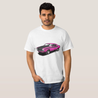 T-shirt classique de voiture de challengeur