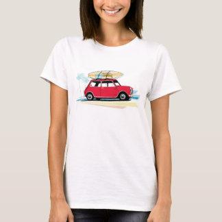 T-shirt classique des femmes le mini