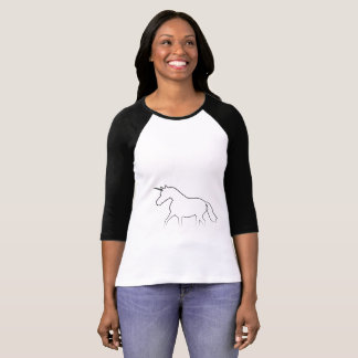 T-shirt classique d'unicorno