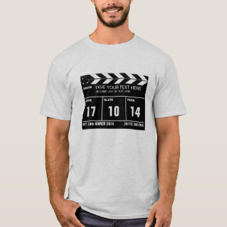 T-shirt Classique personnalisé de claquette