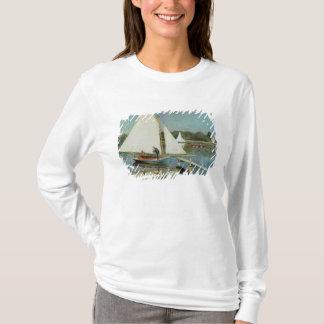 T-shirt Claude Monet | naviguant à Argenteuil, c.1874